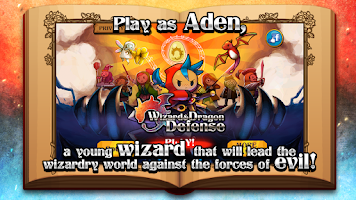 Screenshot of Wizard & Dragon Defense