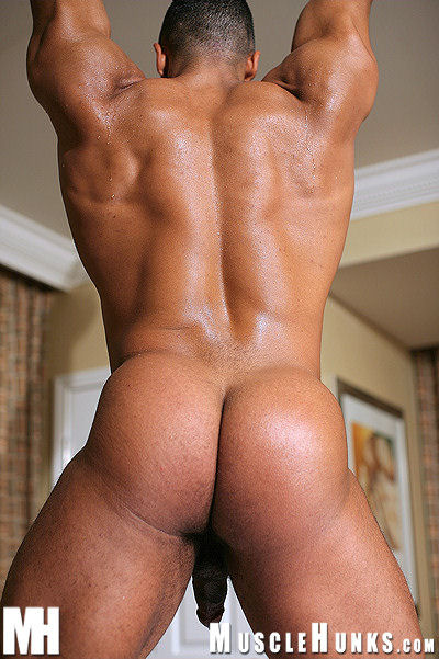 Black muscle ass
