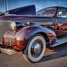 Brown Sedan by Ron Meyers - Transportation Automobiles