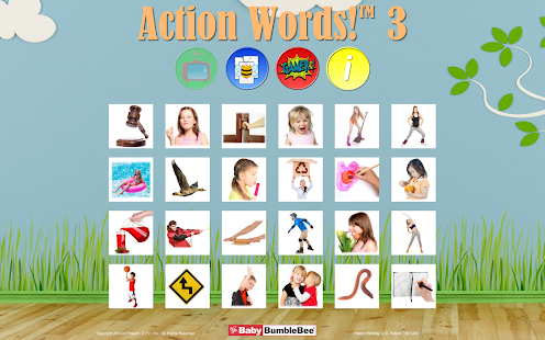 Action Words!™ 3  Flashcards - screenshot