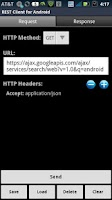 Screenshot of REST Client for Android