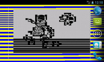 Screenshot of ZX Spectrum LWP