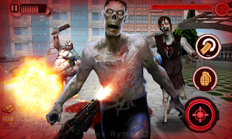 Screenshot of City Zombie sniper 3D