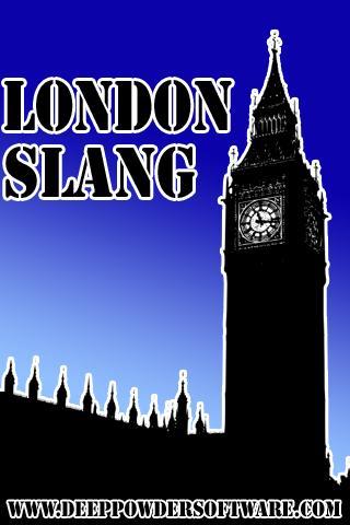 London Slang