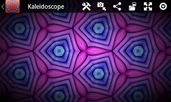 Screenshot of Kaleidoscope