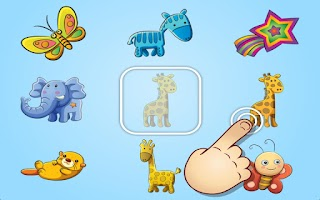 Screenshot of Cute Animal and Toy Matching