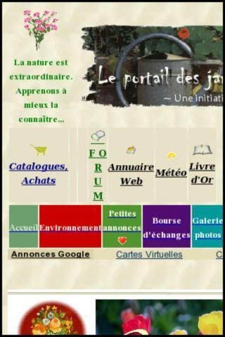 Cartes virtuelles Jardinature