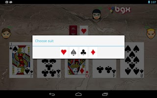 Screenshot of Macao - Crazy Eights