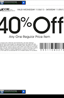 Screenshot of AC Moore Coupons