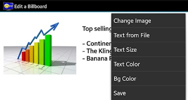 Screenshot of TV Billboard Creator