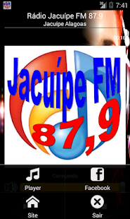 Rádio Jacuípe FM 87.9 - screenshot