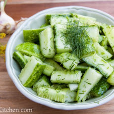 Fresh Cucumber Salad