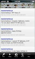 Screenshot of Backstreet Boy+