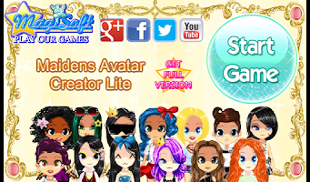 Screenshot of Maidens Avatar Creator Lite