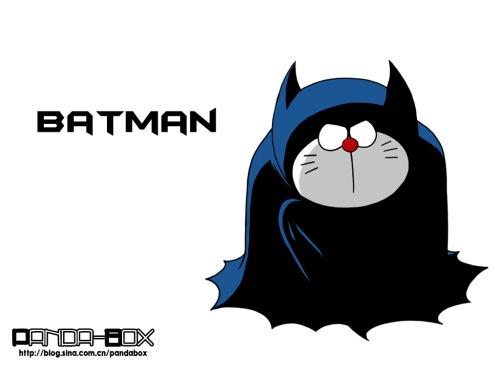 doreamon batman