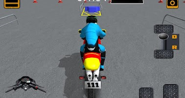Screenshot of 3D Motorbike downtown driving