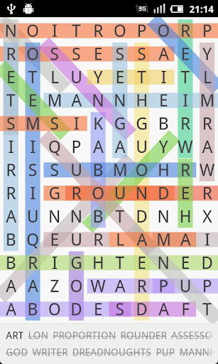 word-search for android screenshot