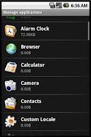 Screenshot of App Handler
