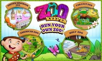 Screenshot of Zoo Keeper - Care For Animals
