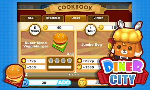 diner-city for android screenshot
