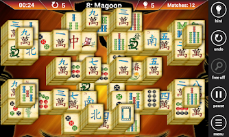 Screenshot of Mahjong Solar