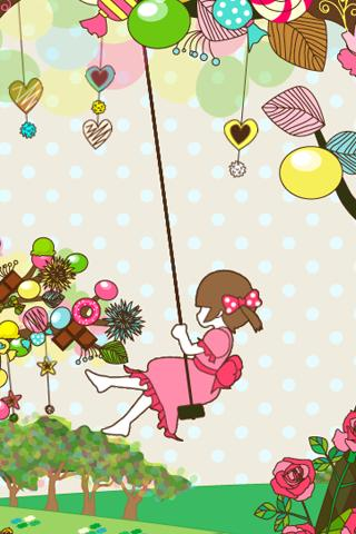 【免費個人化App】sweet tree LiveWallpaper-APP點子