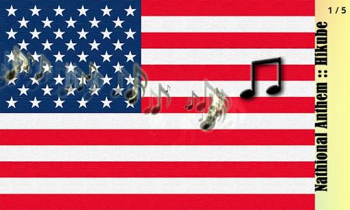 アメリカの国歌::弾くべ fa