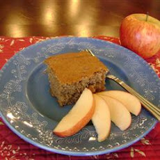 Apple Spice Snack Cake