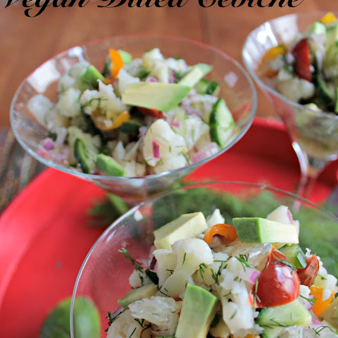 Vegan Dilled Ceviche