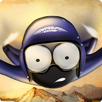 Wingsuit Stickman For PC (Windows And Mac)