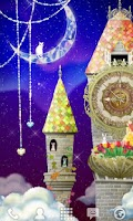 Screenshot of magical clock tower LWallpaper