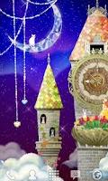 Screenshot of magical clock tower LWallpaper