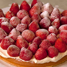 Genoese Sponge Cake With Real Fruit Topping