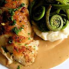 Chicken Breast Amandine