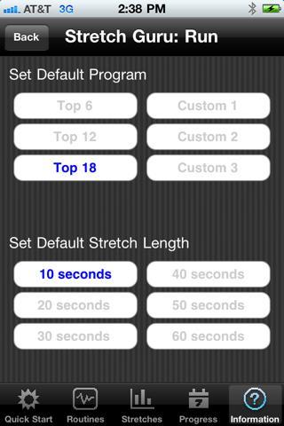 Stretch Guru: Run - screenshot