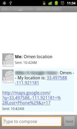 Omen Phone Recovery