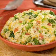 Loaded Broccoli Mashed Potatoes