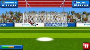 Screenshot of Soccer Penalty Kicks