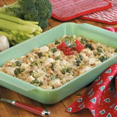 Chicken Stuffing Bake
