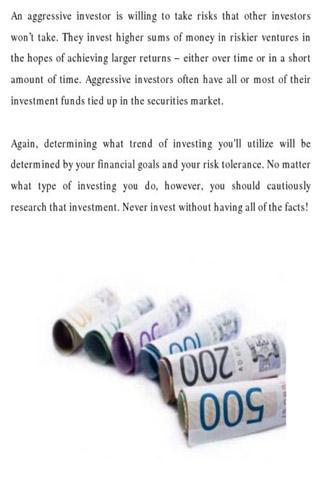 【免費商業App】Intelligent Investing-APP點子