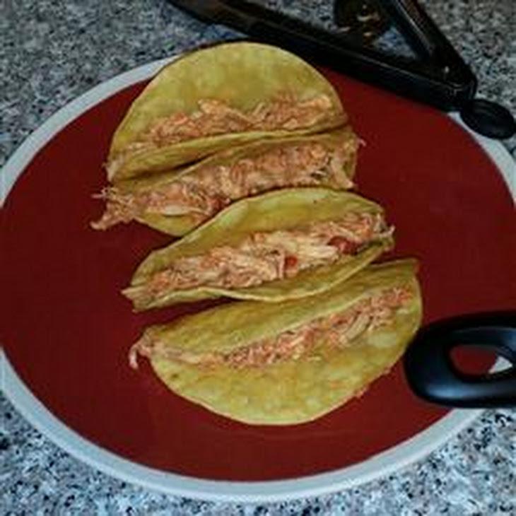 Sarah's Easy Shredded Chicken Taco Filling Recipe | Yummly