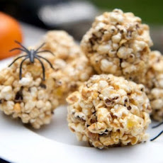Halloween Popcorn Treats