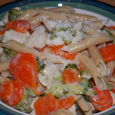 One-Pot Chicken & Penne Parmesan