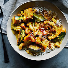Cashew, Coconut, and Squash Curry