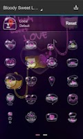 Screenshot of B.S.Love Next Launcher Theme