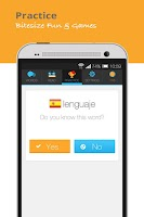 Screenshot of Lingua.ly, Practice a Language