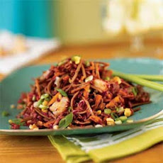 Soba and Slaw Salad with Peanut Dressing