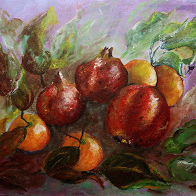 Fruit by Jasna Dragun - Painting All Painting ( nature art, fruits, painting,  )
