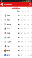 Screenshot of Botola Pro Maroc