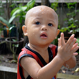 RAIN SHOWER by Arrozy Chepeh Ampenan - Babies & Children Child Portraits